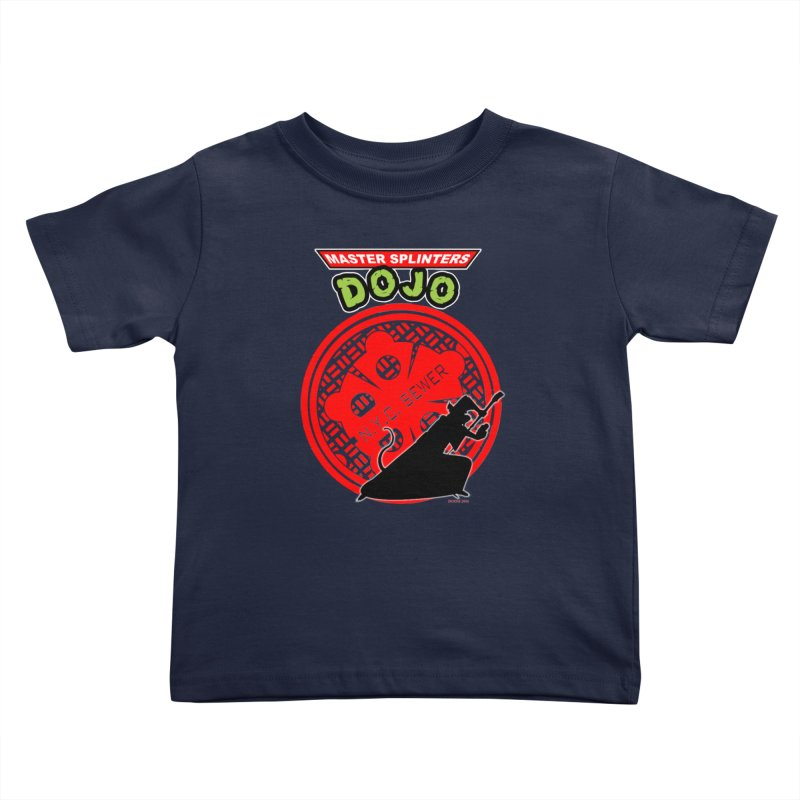 Master Splinters Dojo Kids Toddler T-Shirt by doombxny's Artist Shop
