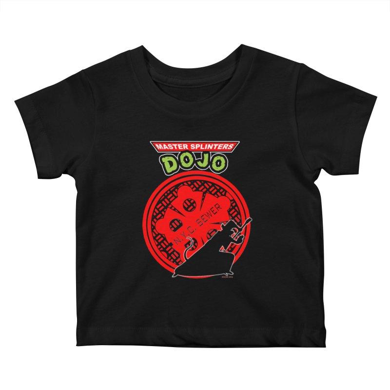 Master Splinters Dojo Kids Baby T-Shirt by doombxny's Artist Shop