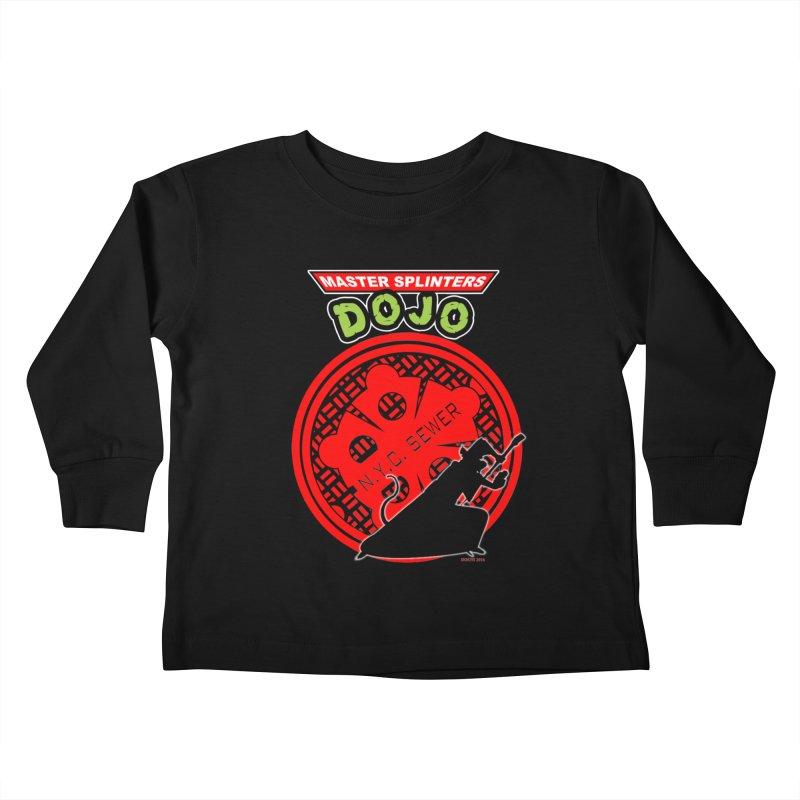 Master Splinters Dojo Kids Toddler Longsleeve T-Shirt by doombxny's Artist Shop