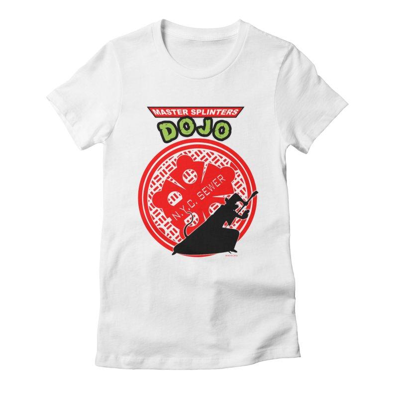 Master Splinters Dojo Women's Fitted T-Shirt by doombxny's Artist Shop