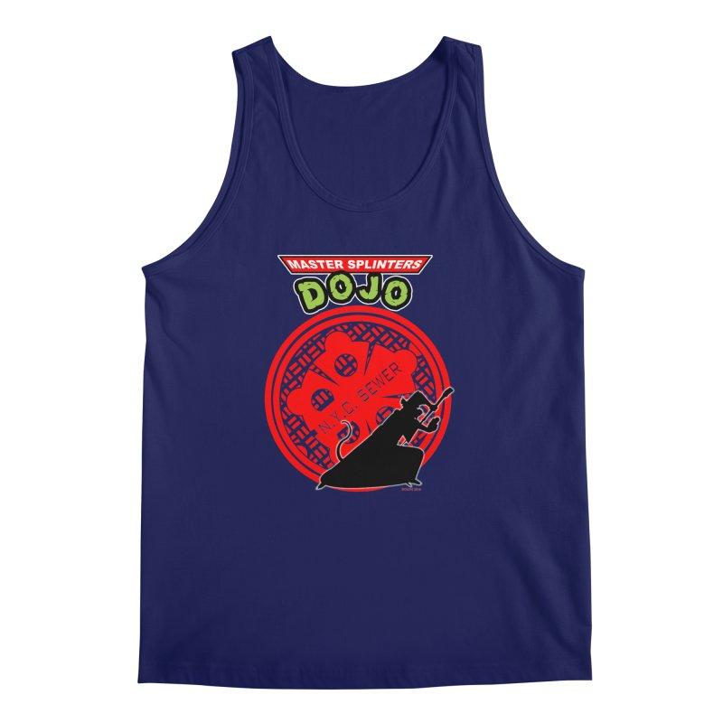 Master Splinters Dojo Men's Tank by doombxny's Artist Shop