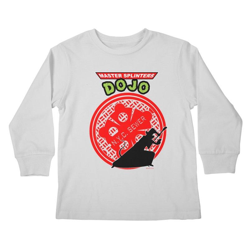 Master Splinters Dojo Kids Longsleeve T-Shirt by doombxny's Artist Shop