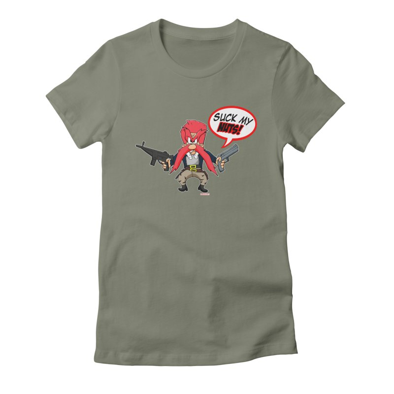Abraham Sam Women's Fitted T-Shirt by doombxny's Artist Shop
