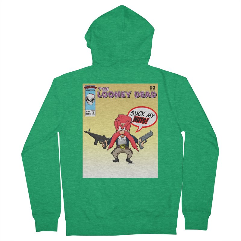 Abraham Sam Comic cover Men's Zip-Up Hoody by doombxny's Artist Shop