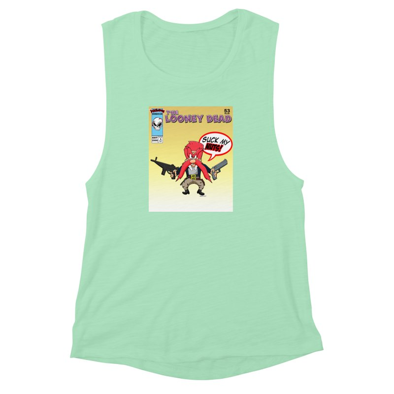 Abraham Sam Comic cover Women's Muscle Tank by doombxny's Artist Shop
