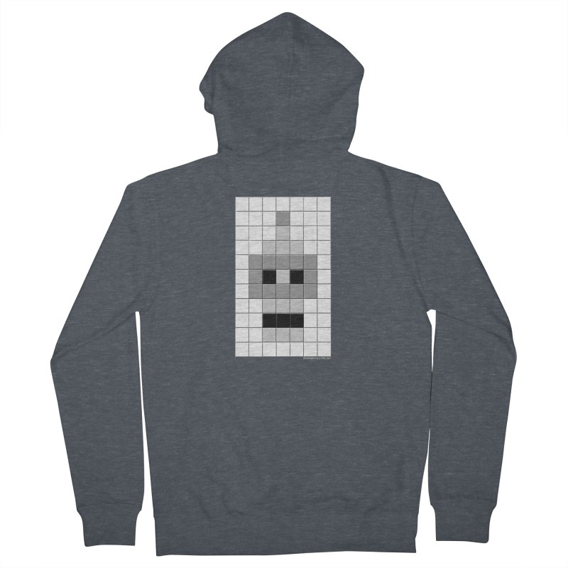 Tiled Bender Women's French Terry Zip-Up Hoody by doombxny's Artist Shop