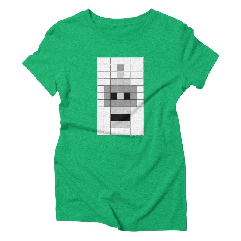 Tiled Bender Women's T-Shirt by doombxny's Artist Shop