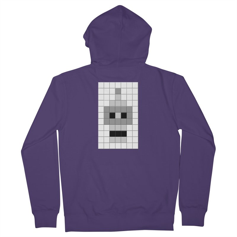 Tiled Bender Women's Zip-Up Hoody by doombxny's Artist Shop