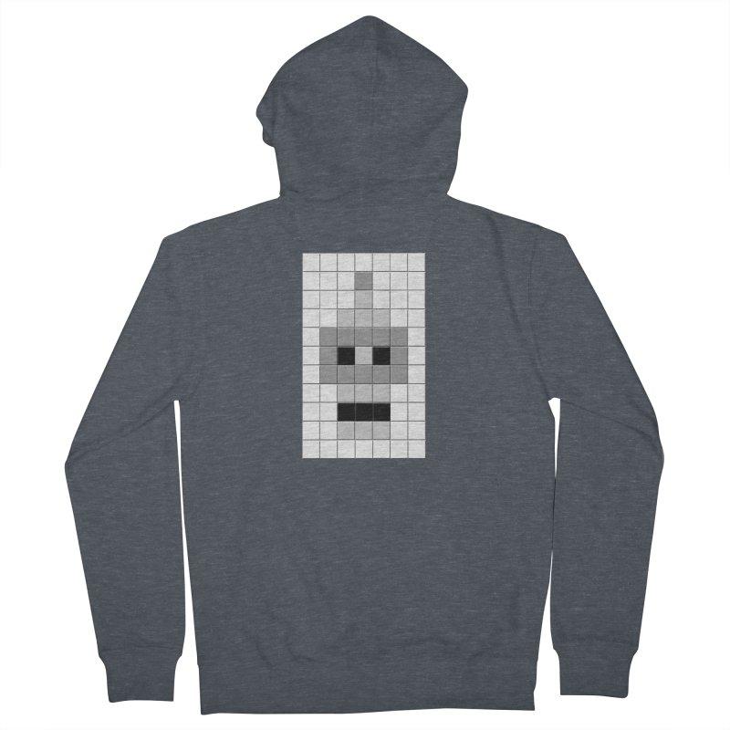 Tiled Bender Men's Zip-Up Hoody by doombxny's Artist Shop