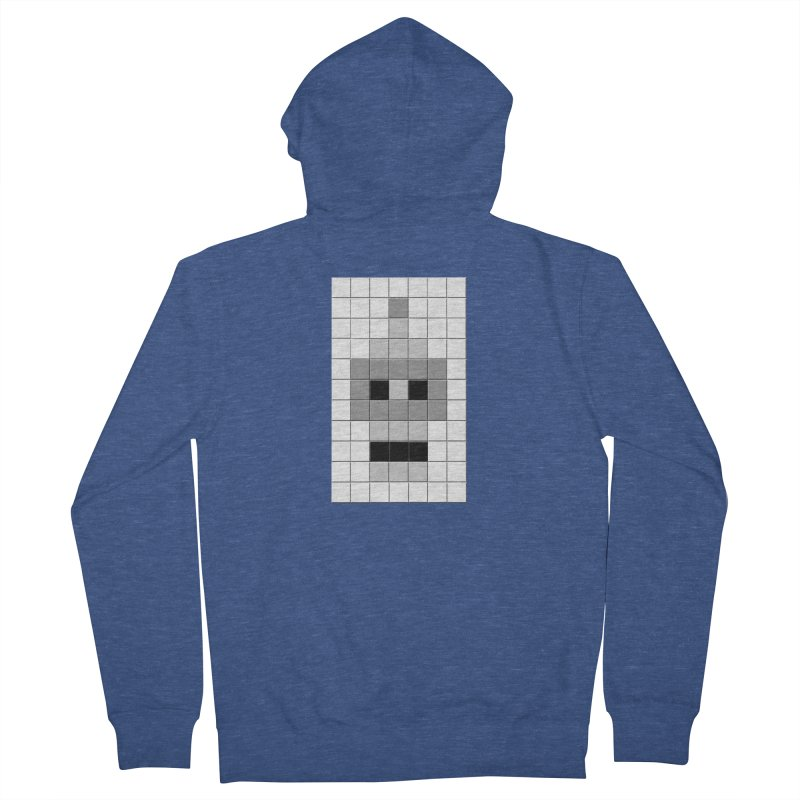 Tiled Bender Men's Zip-Up Hoody by doombxny's Artist Shop