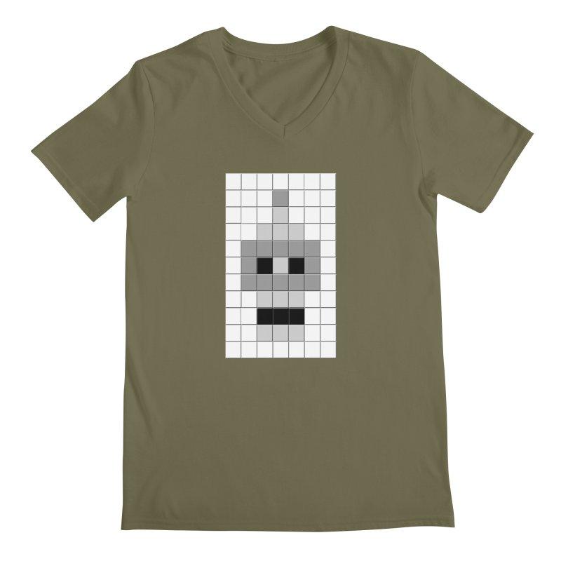 Tiled Bender Men's V-Neck by doombxny's Artist Shop