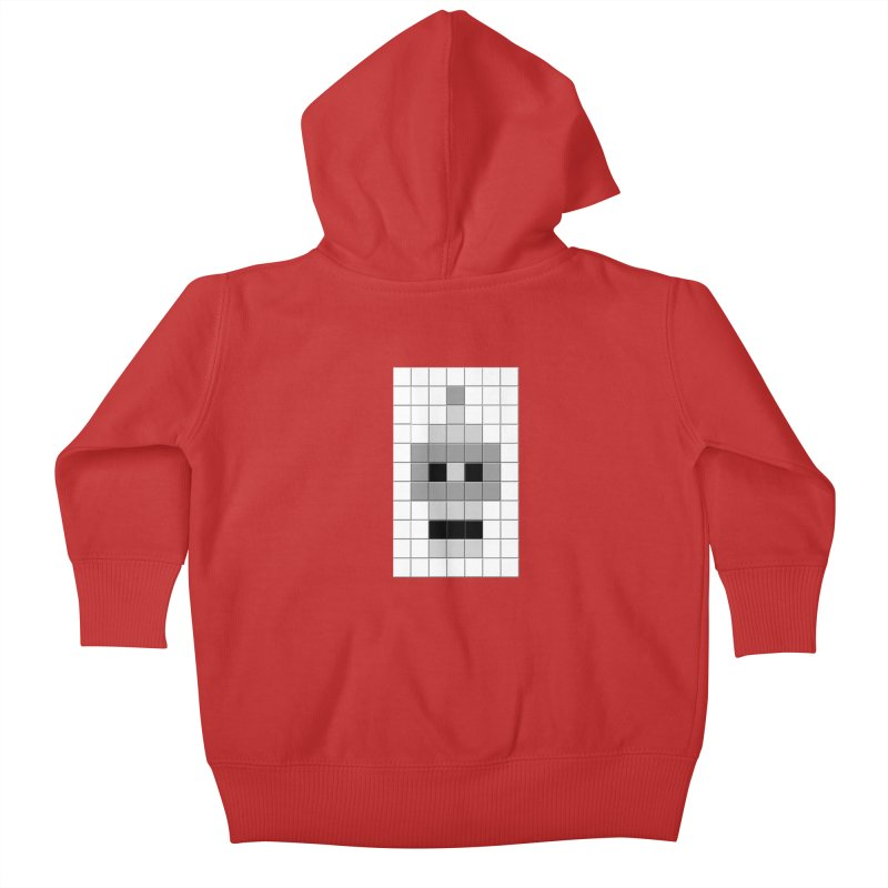 Tiled Bender Kids Baby Zip-Up Hoody by doombxny's Artist Shop