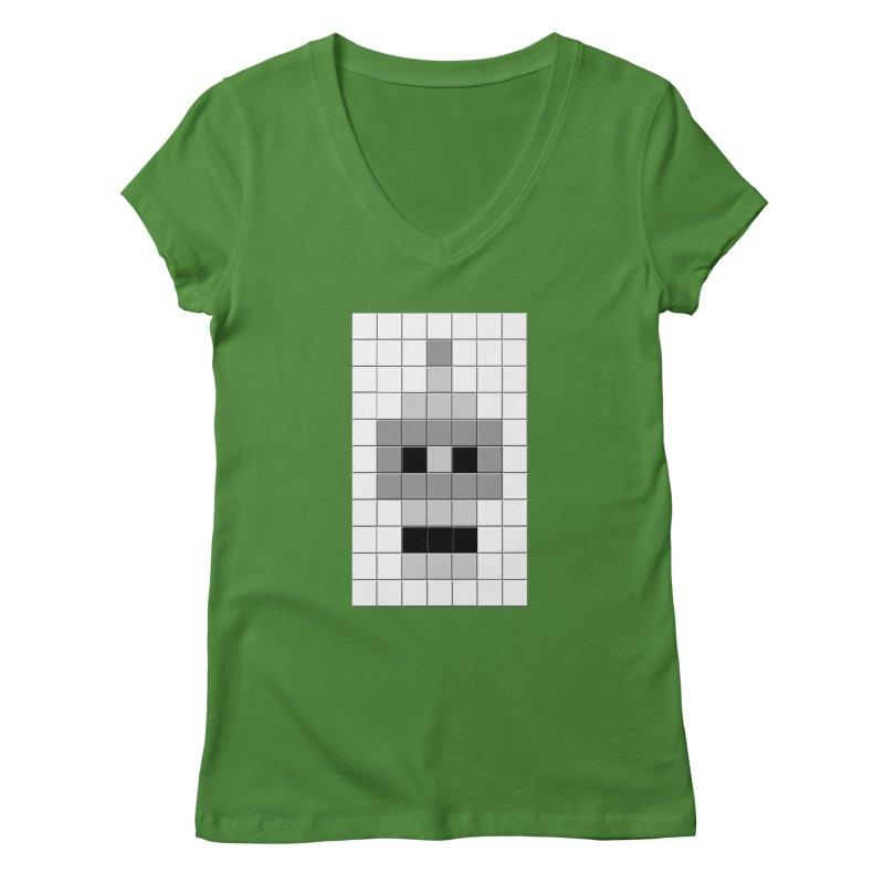 Tiled Bender Women's V-Neck by doombxny's Artist Shop