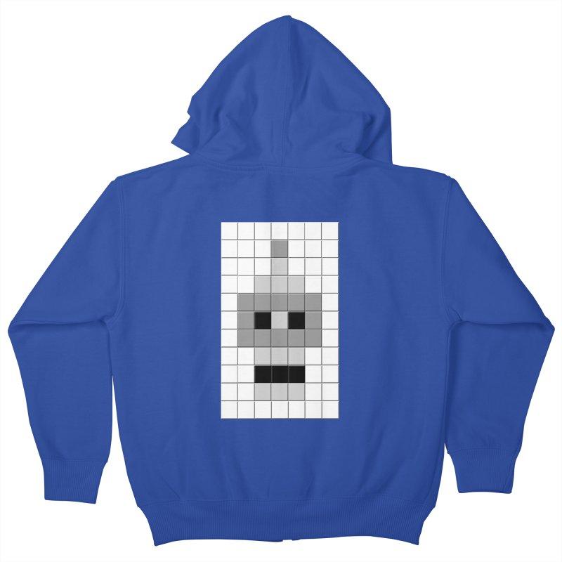 Tiled Bender Kids Zip-Up Hoody by doombxny's Artist Shop