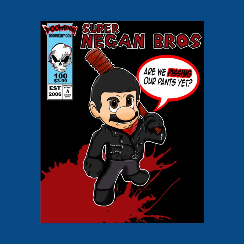 Super Negan Bros Men's Zip-Up Hoody by doombxny's Artist Shop