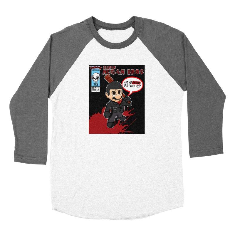 Super Negan Bros Women's Longsleeve T-Shirt by doombxny's Artist Shop