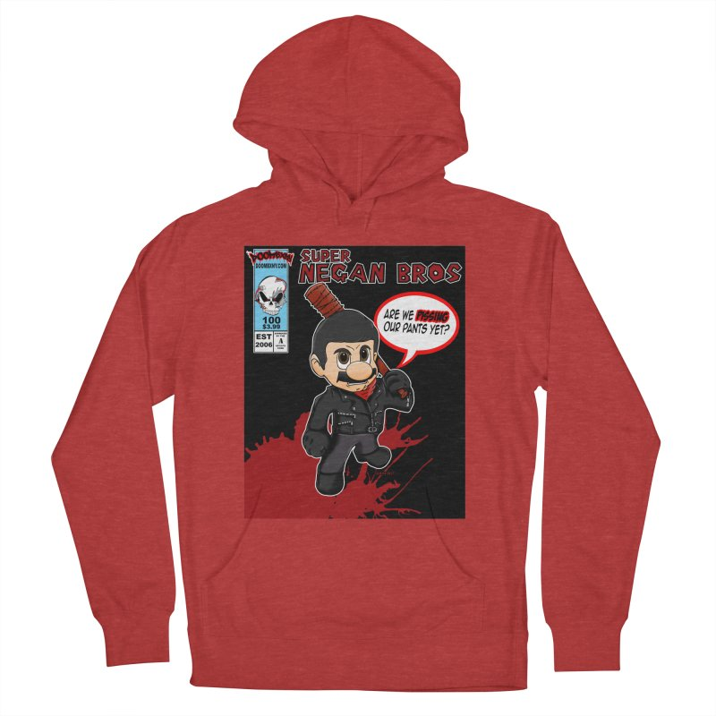 Super Negan Bros Women's French Terry Pullover Hoody by doombxny's Artist Shop