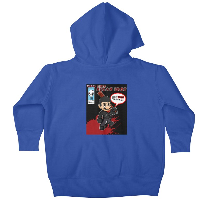 Super Negan Bros Kids Baby Zip-Up Hoody by doombxny's Artist Shop