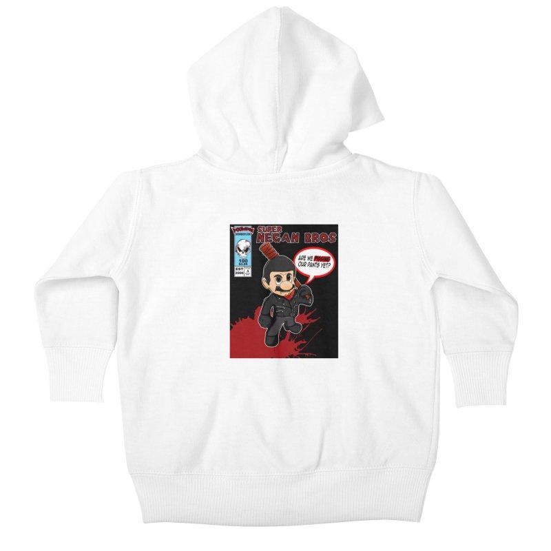 Super Negan Bros Kids Baby Zip-Up Hoody by doombxny's Artist Shop