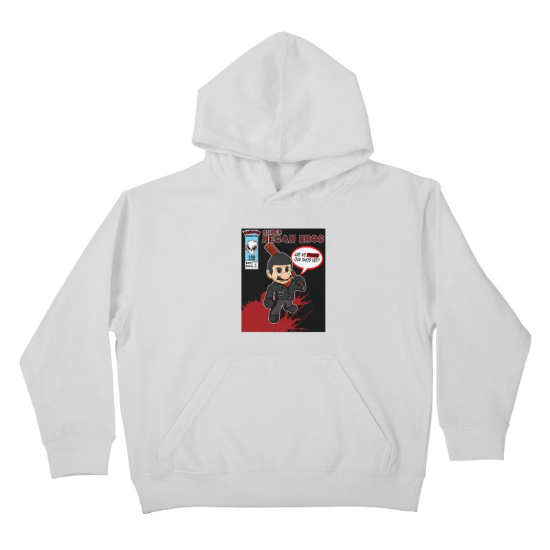 Super Negan Bros Kids Pullover Hoody by doombxny's Artist Shop