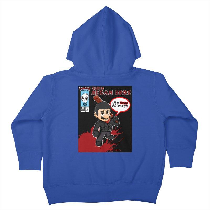 Super Negan Bros Kids Toddler Zip-Up Hoody by doombxny's Artist Shop