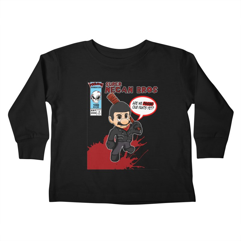 Super Negan Bros Kids Toddler Longsleeve T-Shirt by doombxny's Artist Shop