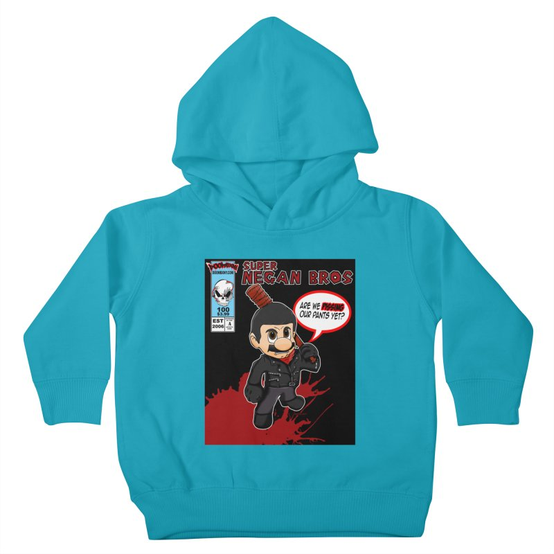 Super Negan Bros Kids Toddler Pullover Hoody by doombxny's Artist Shop