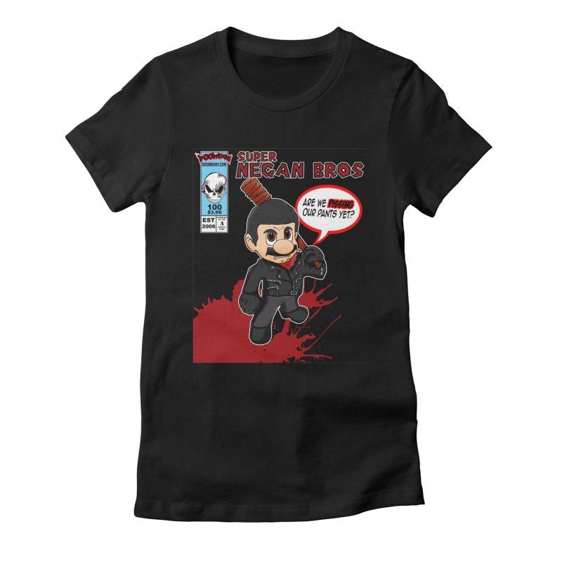 Super Negan Bros Women's T-Shirt by doombxny's Artist Shop