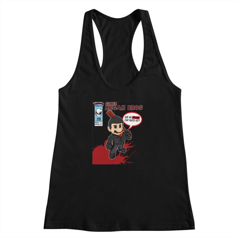 Super Negan Bros Women's Racerback Tank by doombxny's Artist Shop