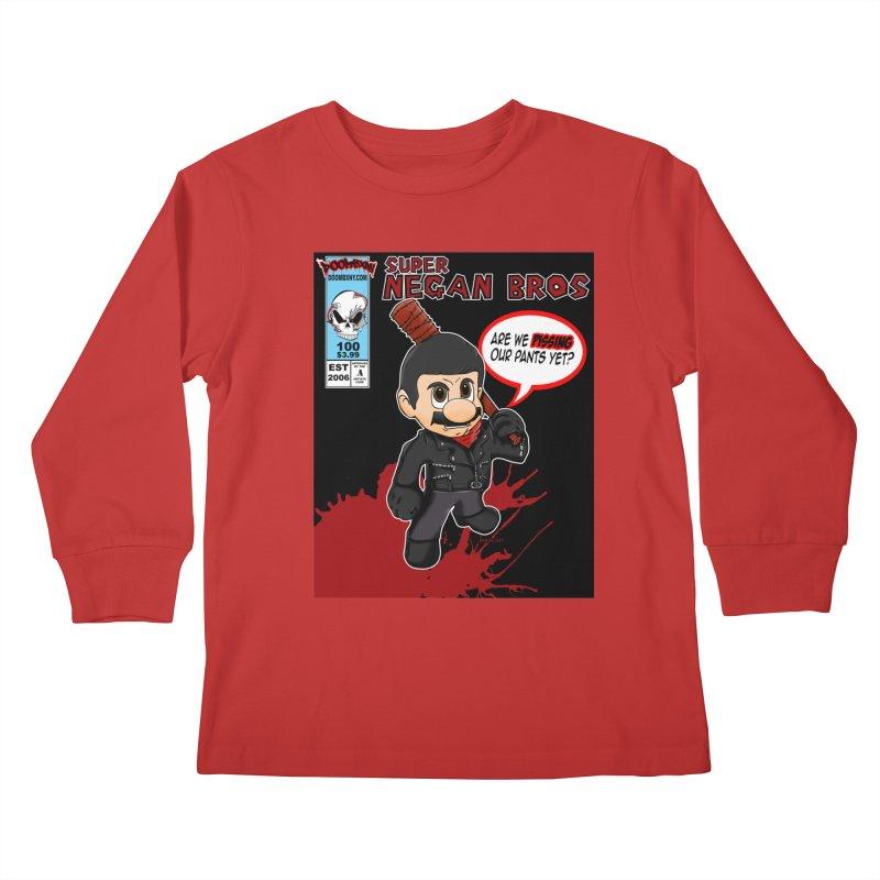 Super Negan Bros Kids Longsleeve T-Shirt by doombxny's Artist Shop