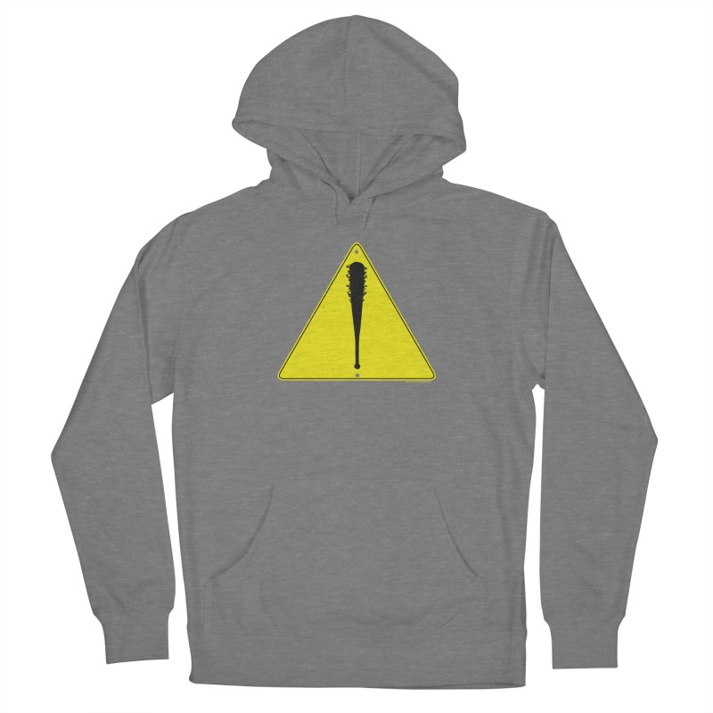 Caution bat Women's Pullover Hoody by doombxny's Artist Shop