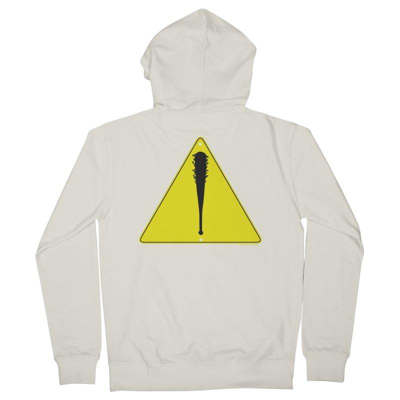 Caution bat Women's Zip-Up Hoody by doombxny's Artist Shop