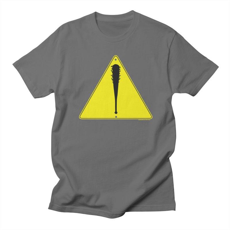 Caution bat Men's T-Shirt by doombxny's Artist Shop