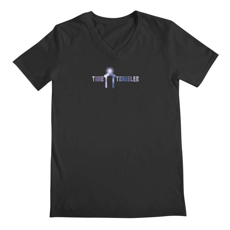 Time traveler Men's V-Neck by doombxny's Artist Shop