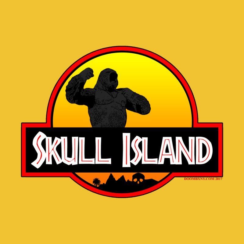 Skull Island Men's T-Shirt by doombxny's Artist Shop