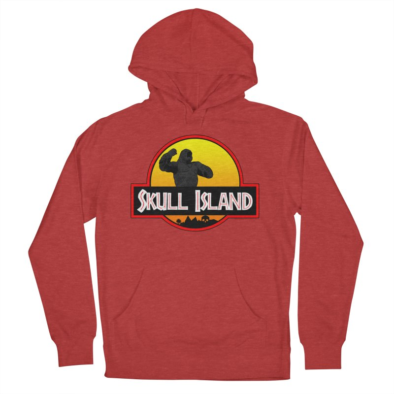 Skull Island Women's French Terry Pullover Hoody by doombxny's Artist Shop