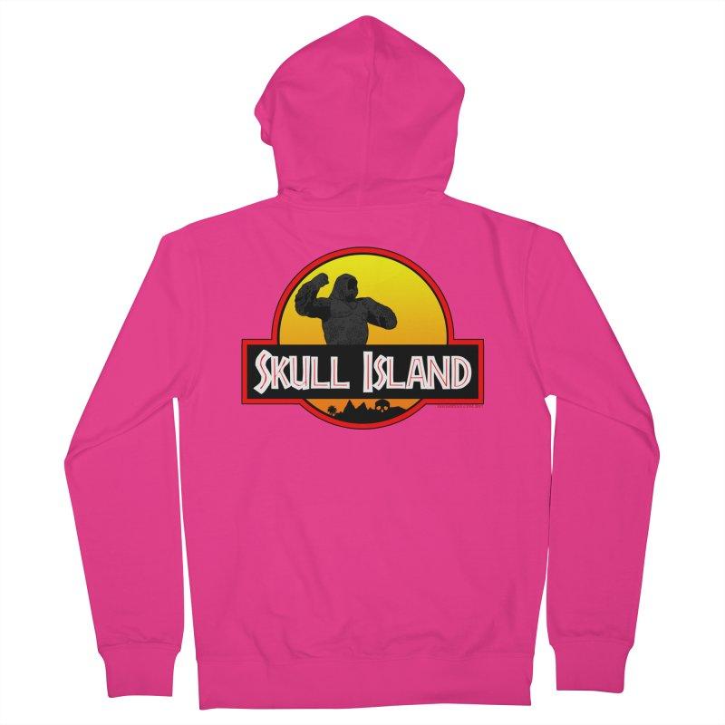 Skull Island Men's Zip-Up Hoody by doombxny's Artist Shop