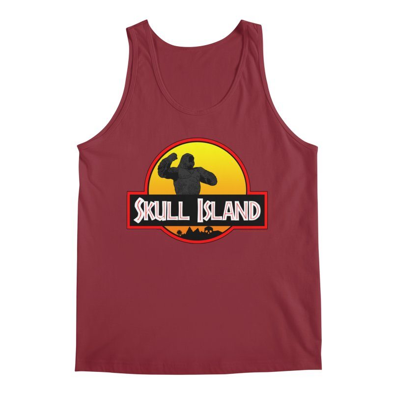 Skull Island Men's Tank by doombxny's Artist Shop