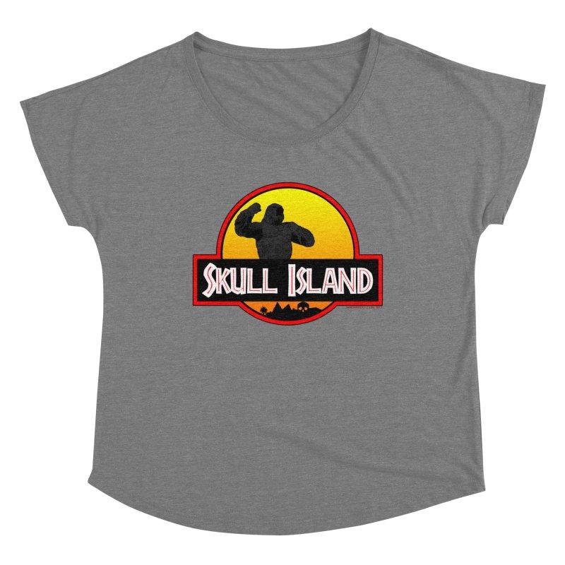Skull Island Women's Scoop Neck by doombxny's Artist Shop