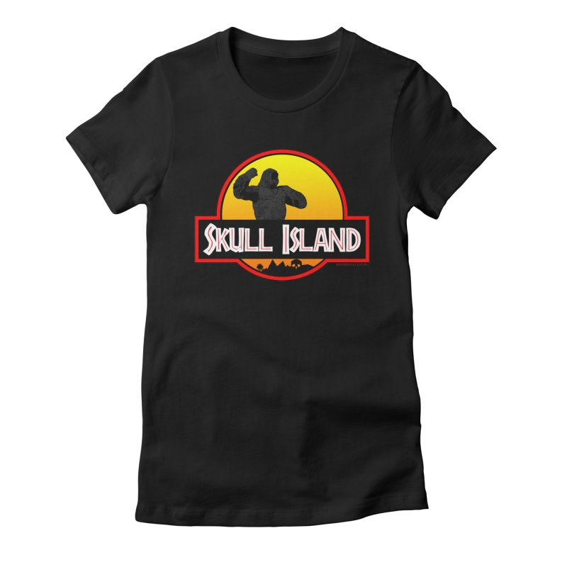 Skull Island Women's T-Shirt by doombxny's Artist Shop