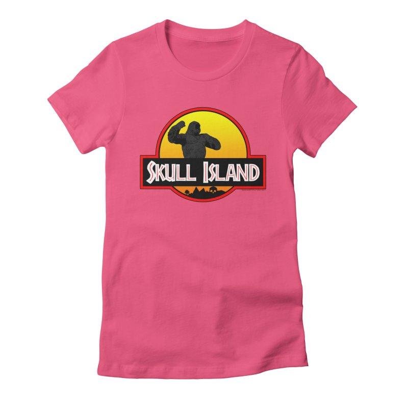 Skull Island Women's T-Shirt by doombxny's Artist Shop