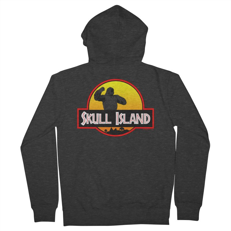 Skull Island Women's Zip-Up Hoody by doombxny's Artist Shop