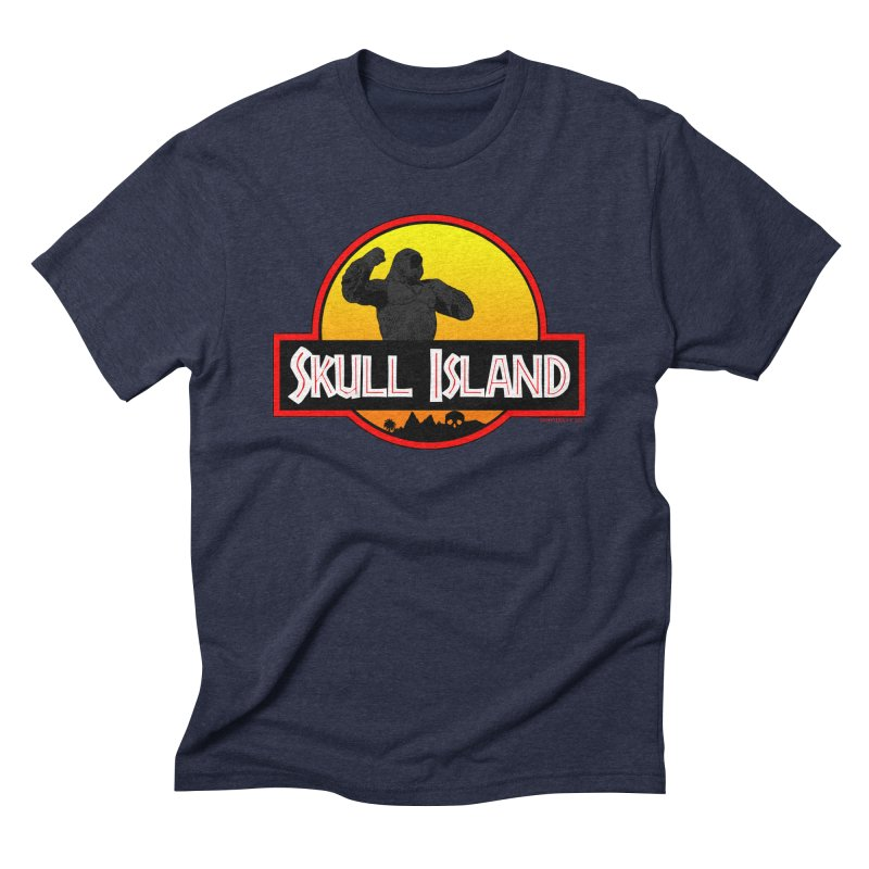 Skull Island Men's Triblend T-Shirt by doombxny's Artist Shop