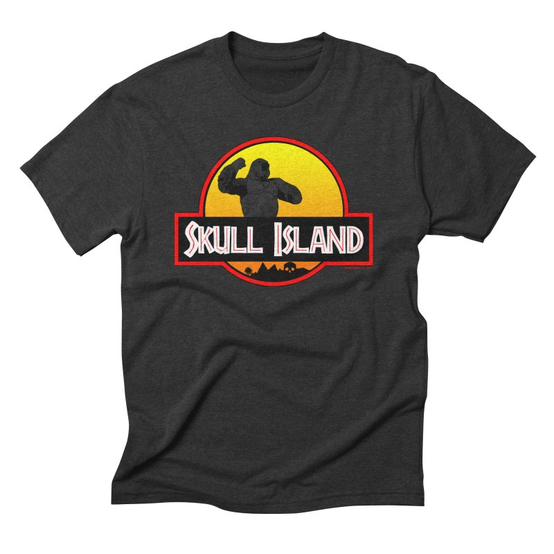 Skull Island Men's Triblend T-shirt by doombxny's Artist Shop
