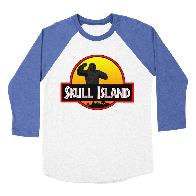 Skull Island Women's Baseball Triblend T-Shirt by doombxny's Artist Shop