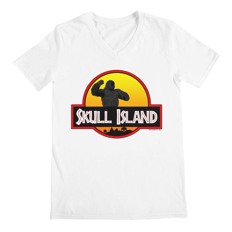 Skull Island Men's V-Neck by doombxny's Artist Shop