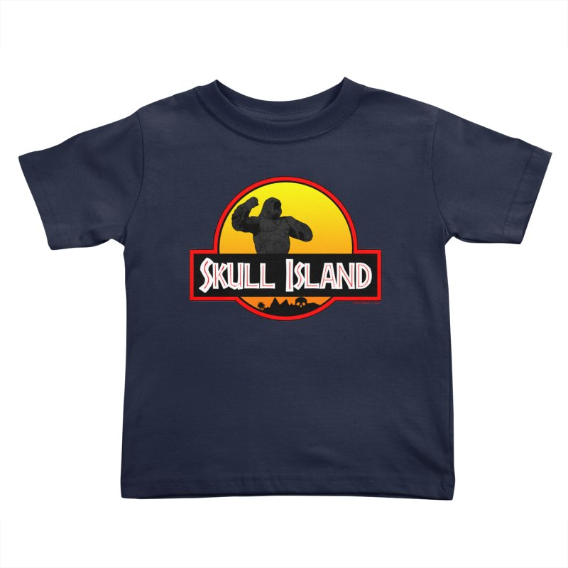 Skull Island Kids Toddler T-Shirt by doombxny's Artist Shop