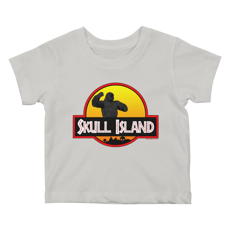 Skull Island Kids Baby T-Shirt by doombxny's Artist Shop