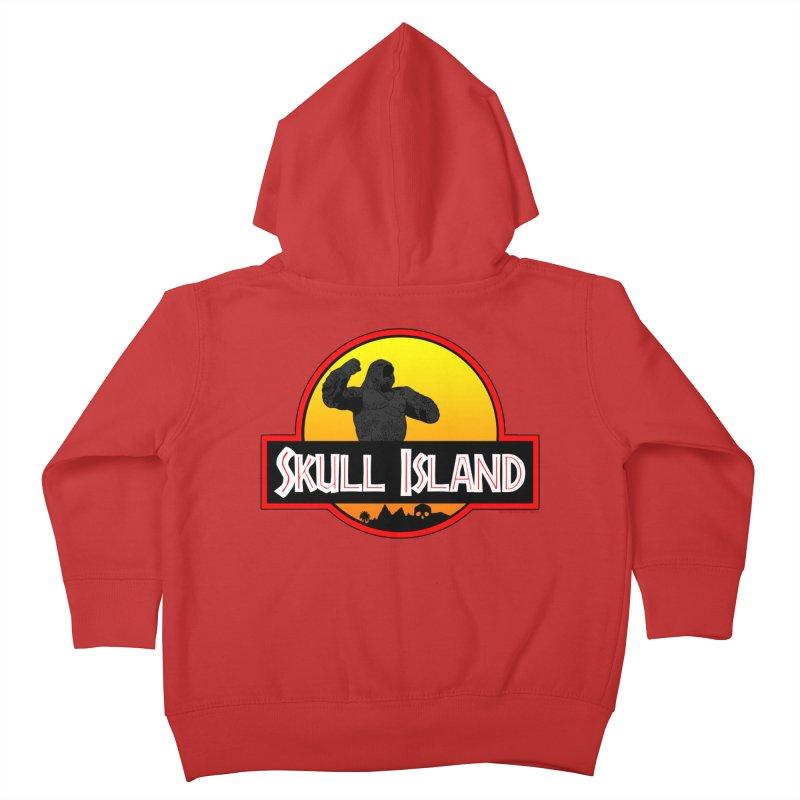Skull Island Kids Toddler Zip-Up Hoody by doombxny's Artist Shop