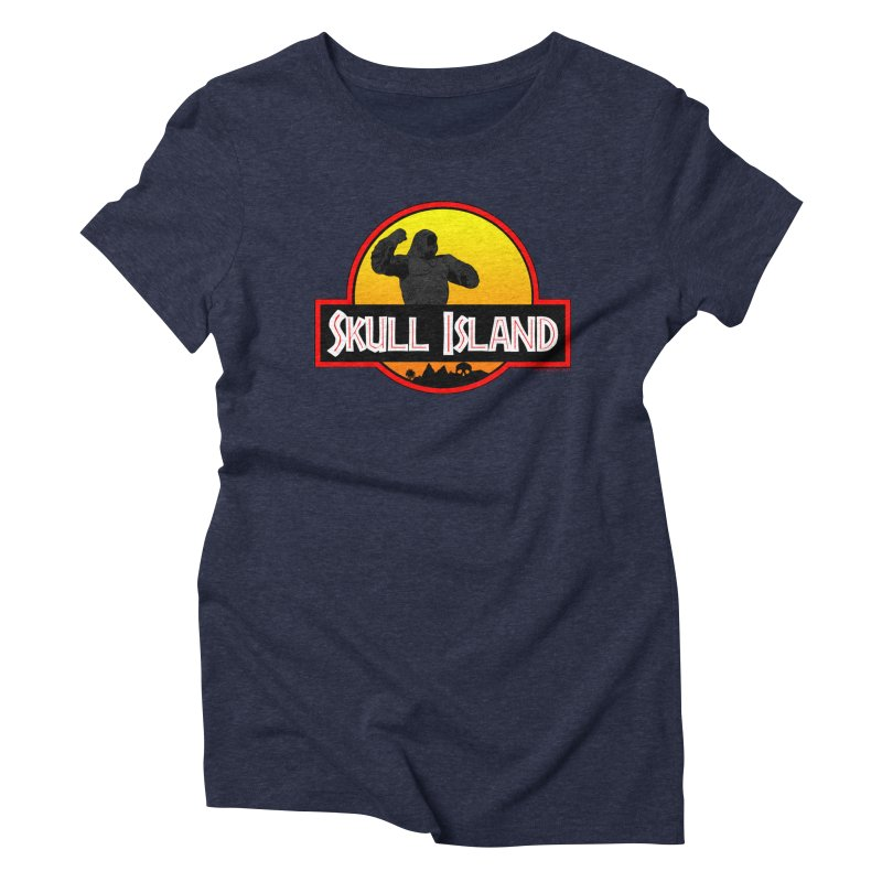 Skull Island Women's Triblend T-shirt by doombxny's Artist Shop